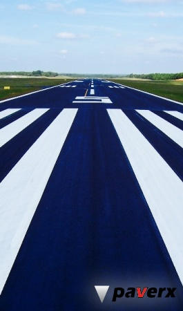 HASCO experts will seal runway and taxiway asphalt with PaveRX which is FAA-approved
